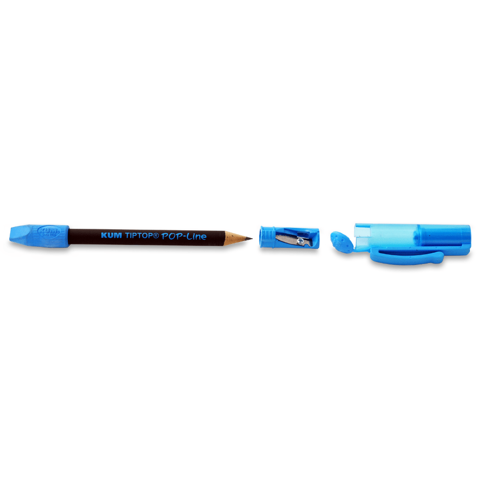Kum Tip Top Pop Pencil Cap Amp Sharpener Pencils Com