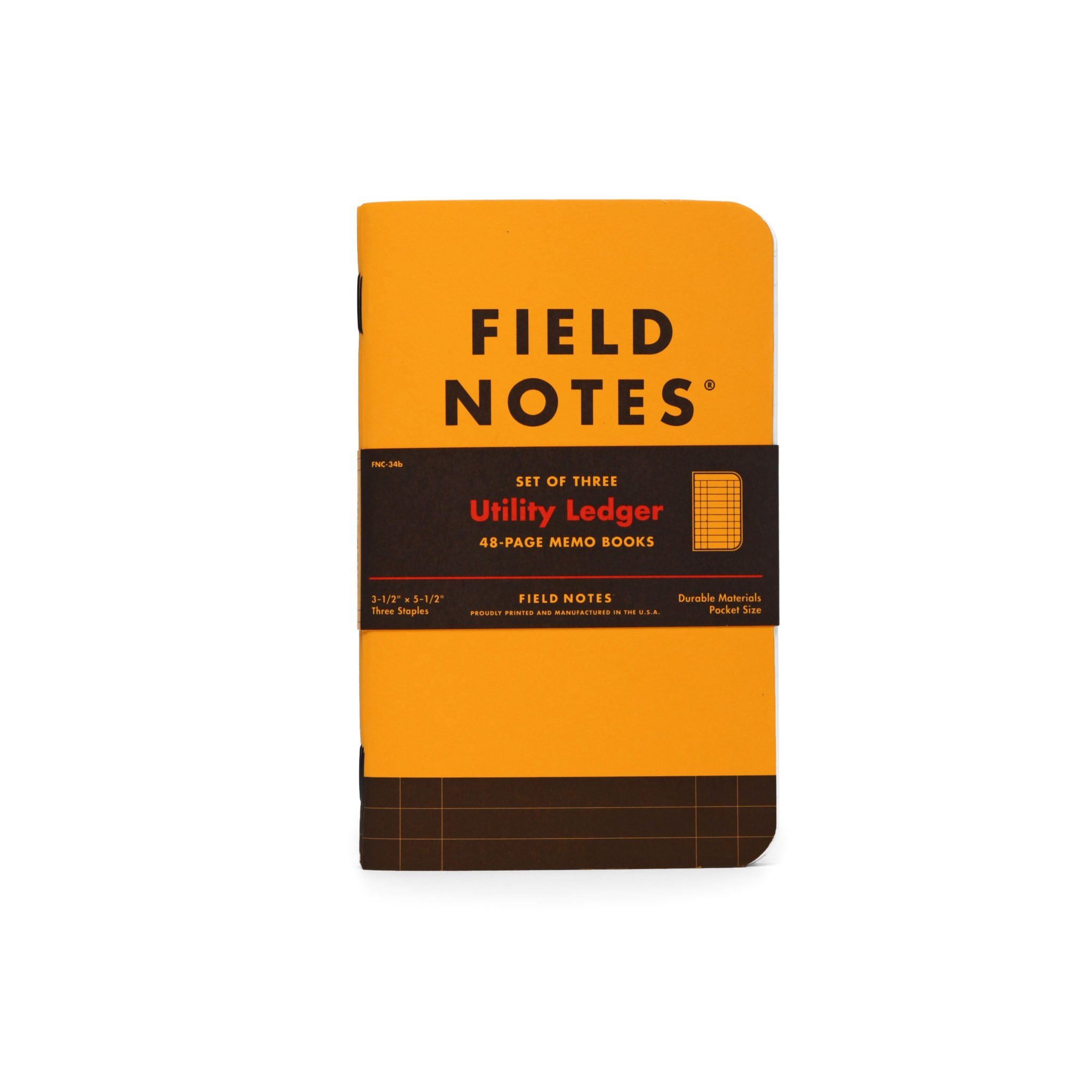 field notes utility  3-pack